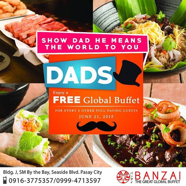 Banzai's Father's Day Deal