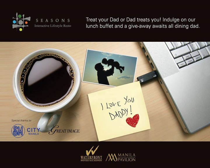 Manila Pavilion's Father's Day deal