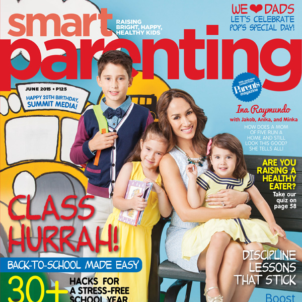 Ina Raymundo is our June Cover Mom!