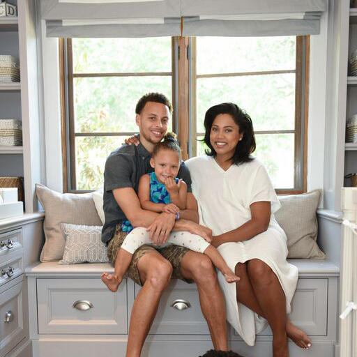 PHOTOS: Stephen Curry's Baby #2 Has An Awesome Nursery