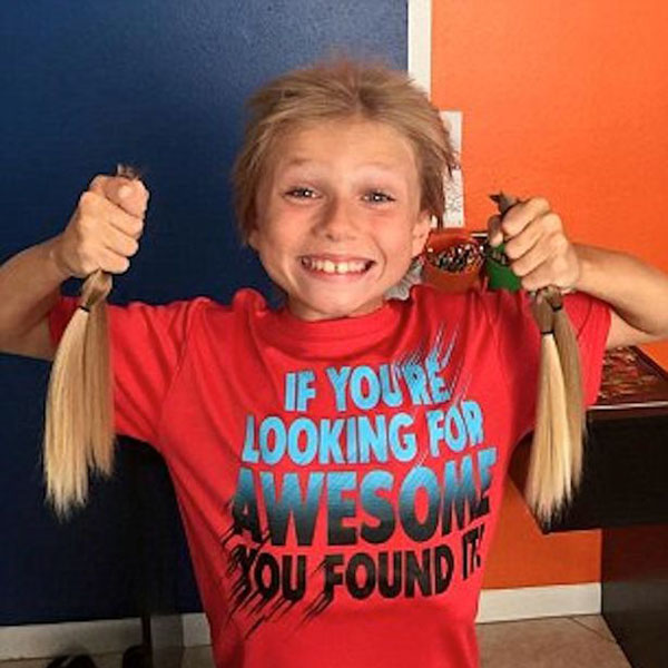 Boy Bullied for his Long Hair Donates Locks to Charity