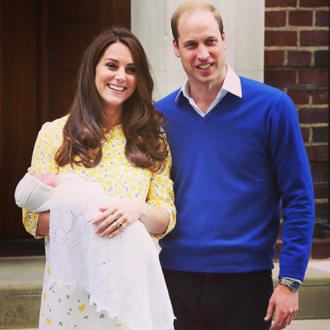 In Photos and Tweets: Kate and Will's Second Royal Baby