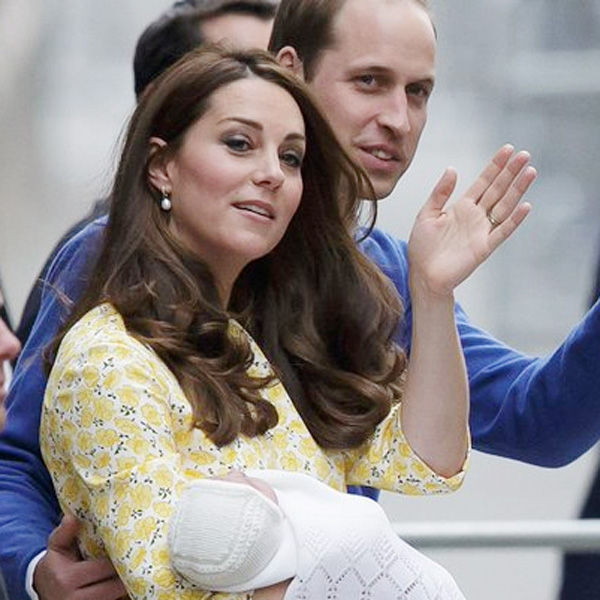 Top of the Morning: And the Royal Princess' Name Is...