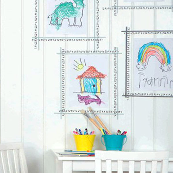 3 Tips on Displaying Your Kids' Artworks