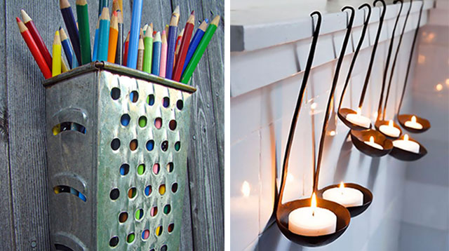 7 Clever Ways To Repurpose Old Kitchen Items