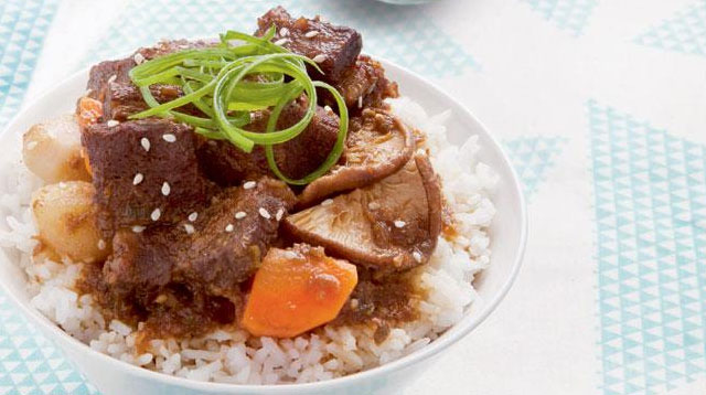 Weekend Recipe: Korean Beef Stew with Bean Sprouts