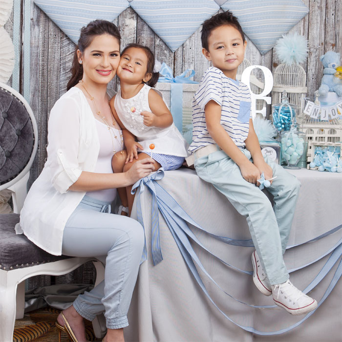 PHOTOS: Behind the Scenes with Kristine Hermosa and Kids