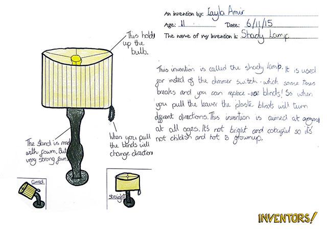 Inventors! Project lamp