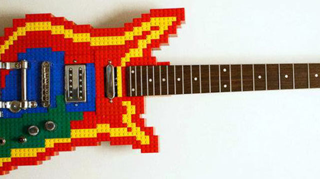 This Lego Guitar is Awesome--and Fully Functional