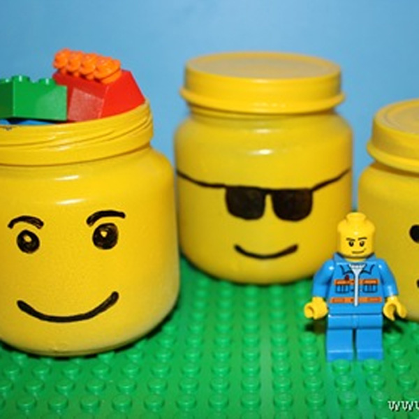 Mommy Hack of the Week: Make your Own Lego Head