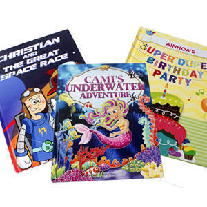 Plan a Party with Look It's About Me Personalized Books