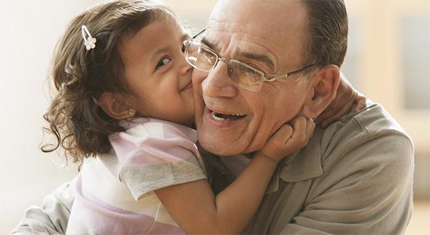 grandparent and little girl