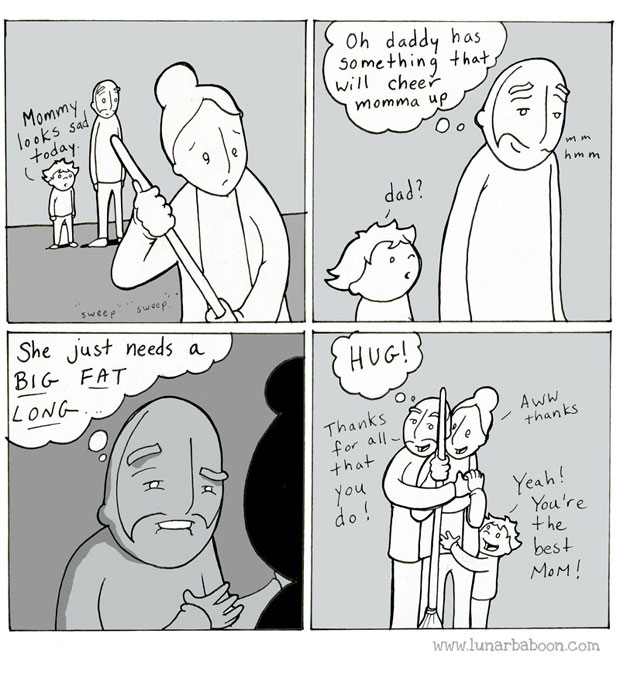Lunarbaboon webcomic-Rated G