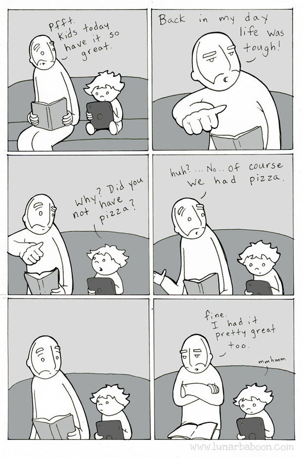 Lunarbaboon webcomic-Pizza great