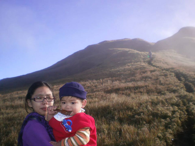 Wyatt Maktrav at Mt. Pulag