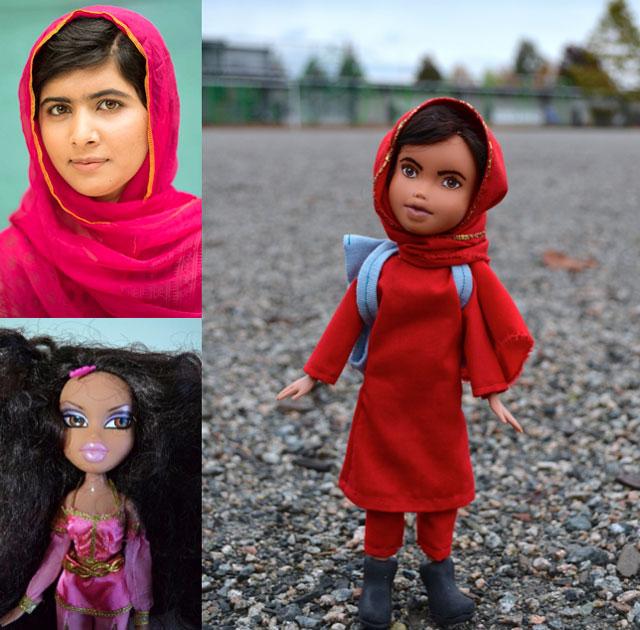 Malala Yousafzai doll