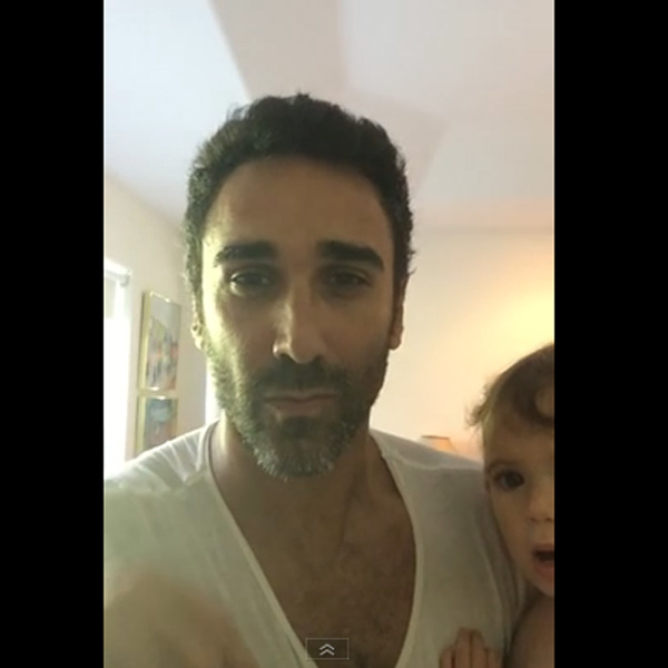 This Made our Day: Dad with an Amazing Voice Sings to Daughter