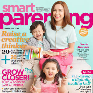 Barbie Almalbis Debuts on the Cover of Smart Parenting