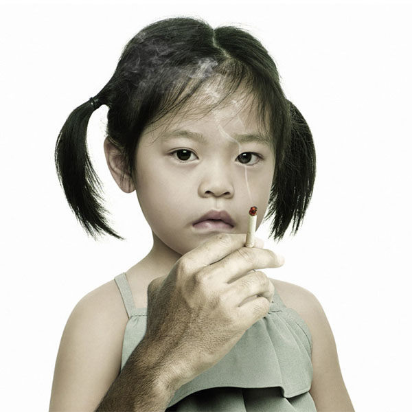 Kids' Exposure to Secondhand Smoke Linked to Cardiovascular Problems
