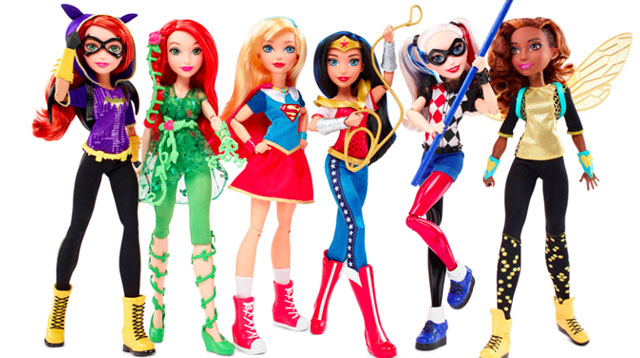 There Are New Superhero Dolls in Town