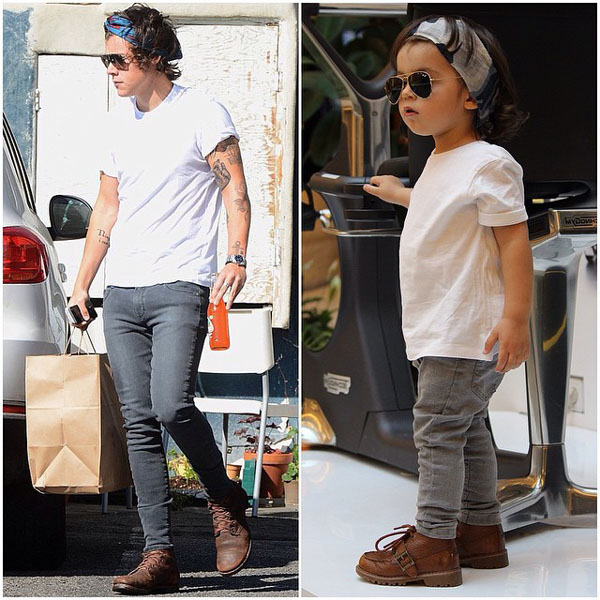 How Cute is this Toddler Dressing Up Like Harry Styles?