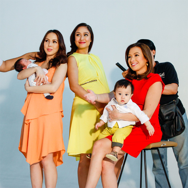 Behind the Scenes with May Cover Moms Kelly, Andi and Nicole
