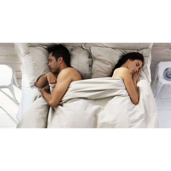 Sleeping in Separate Beds Occasionally May Improve Couples' Relationships