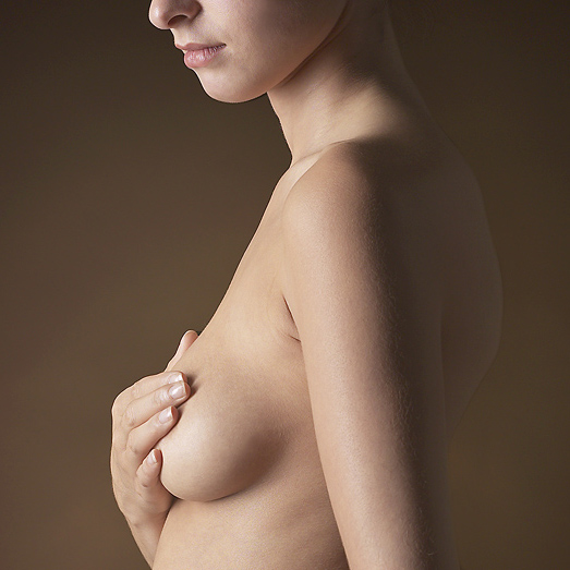 Woman Posts a Photo of Her Bare Breast for a Good Cause