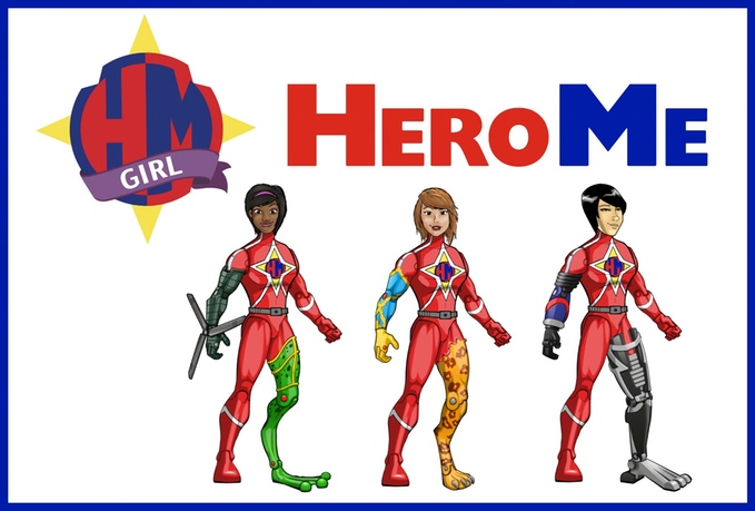 HeroMe female action figures