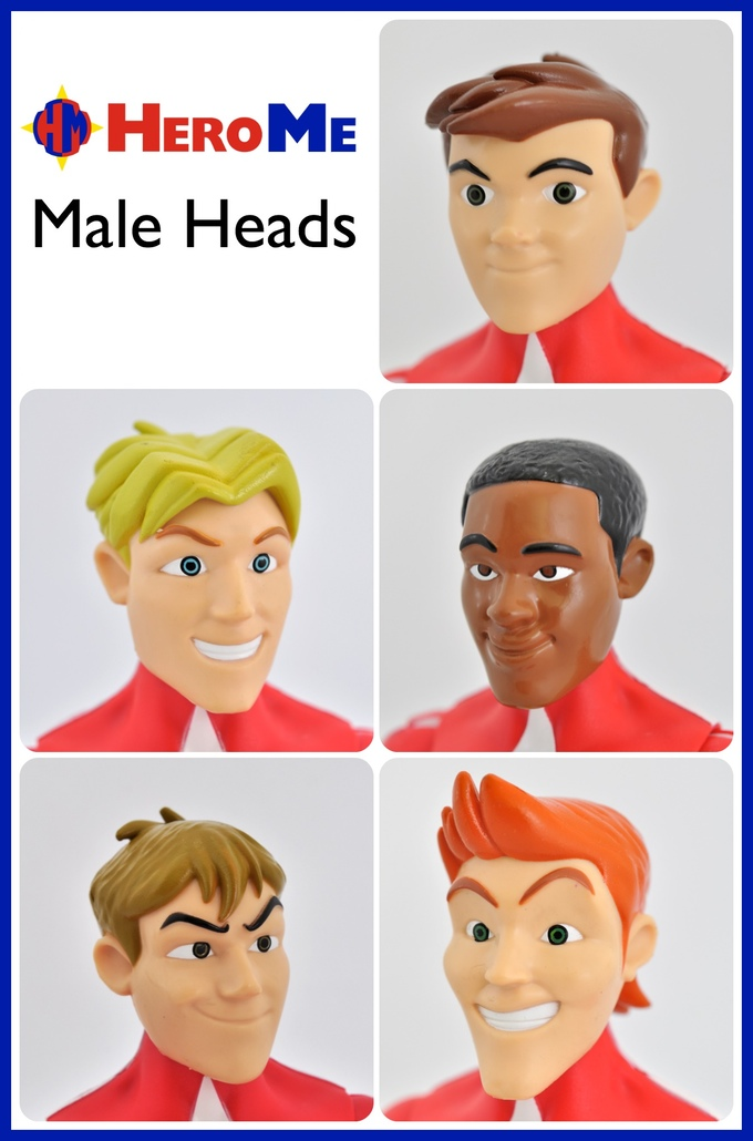HeroMe male heads