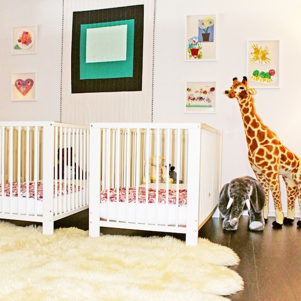 Rachel Zoe's office nursery