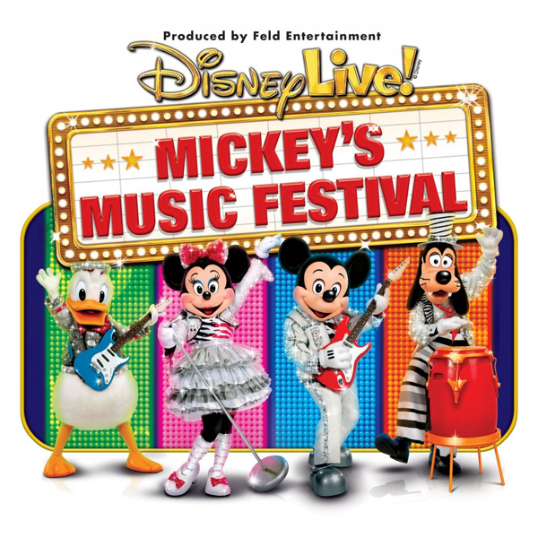 Win Tickets to the Disney Live! Mickey's Music Festival on September 1