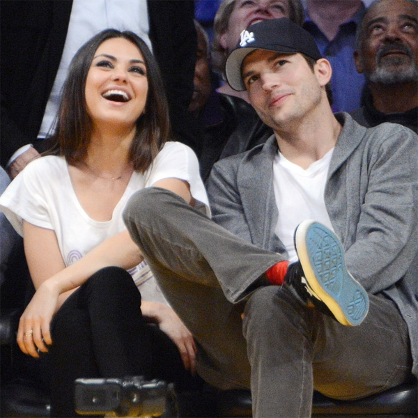 Top of the Morning: Finally, A Photo of Ashton Kutcher & Mila Kunis's Baby