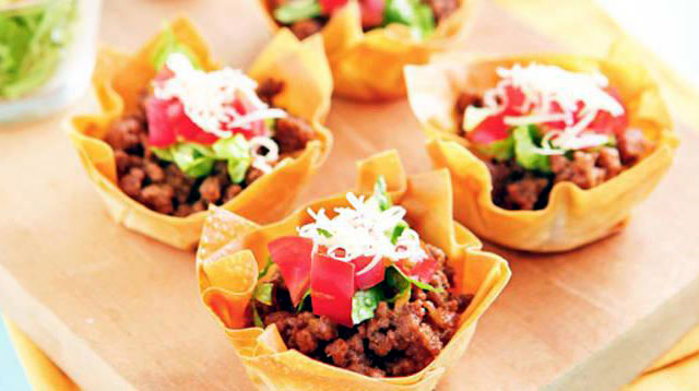 Weekend Recipe: Rachelle's Mini Taco Cups
