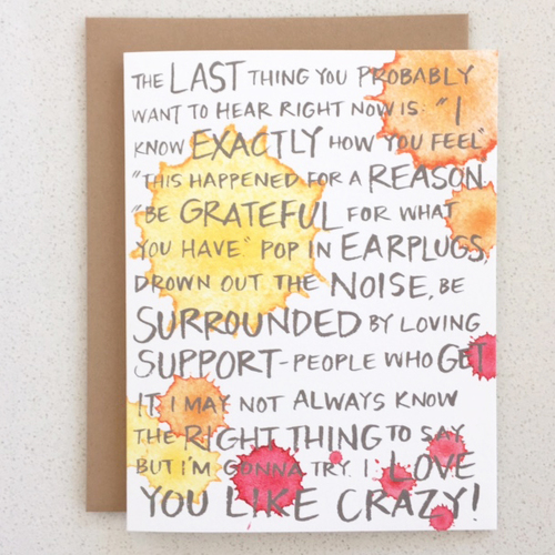 pregnancy loss cards
