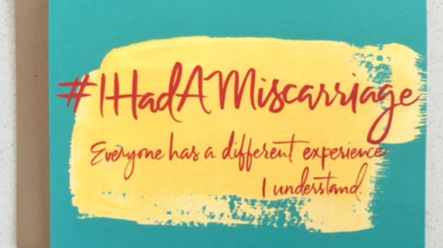 These Greeting Cards Say What We Can't To A Woman Who Had A Miscarriage