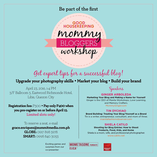 GH Mommy Bloggers Workshop