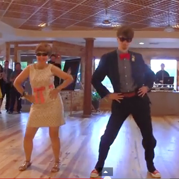 This Made our Day: Groom and Mom Perform Epic Dance Number at His Wedding