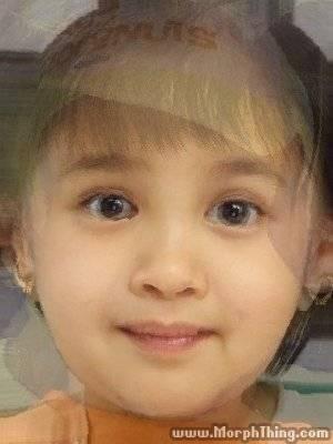 Drew Iya baby girl