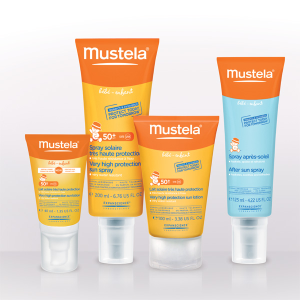 Mustela Introduces New Skin Protection Line for Babies