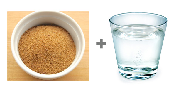 muscovado sugar and water