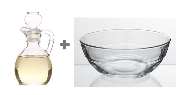 vinegar plus water