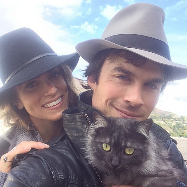 Top of the Morning: Ian Somerhalder & Nikki Reed are Engaged