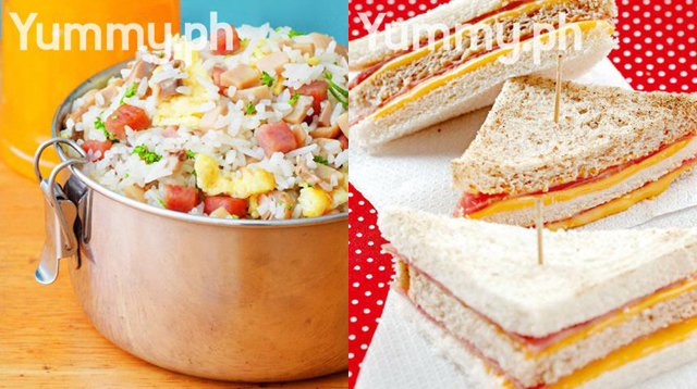 10 Yummy and Filling Recess Baon Ideas to Prepare in a Jiffy