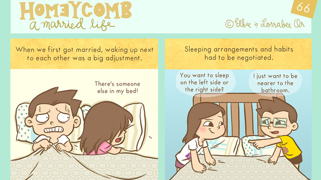 Homeycomb: Your Dose of Lighthearted and Funny Comics About Married Life