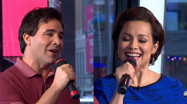 "This Made Our Day: Lea Salonga Reunites with Brad Kane to Sing ""A Whole New World"""