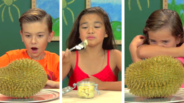 This Made Our Day: American Kids Try Durian for the First Time