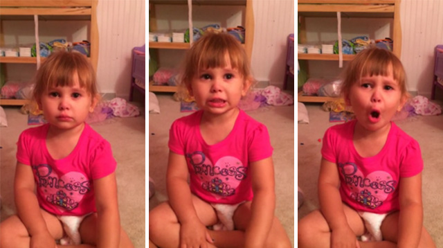 This Made Our Day: Little Girl Gets in Trouble, Tells Dad Her Barbies Made Her Do It