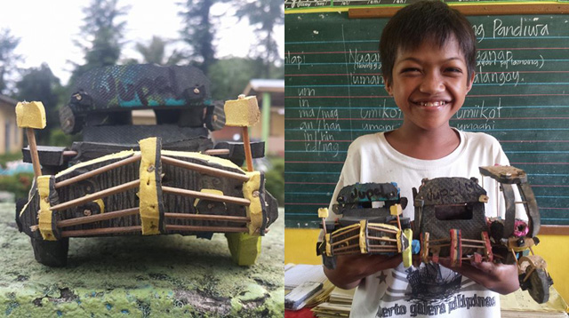 Schoolboy Makes Amazing Toy Cars to Raise Funds to Build School Toilet