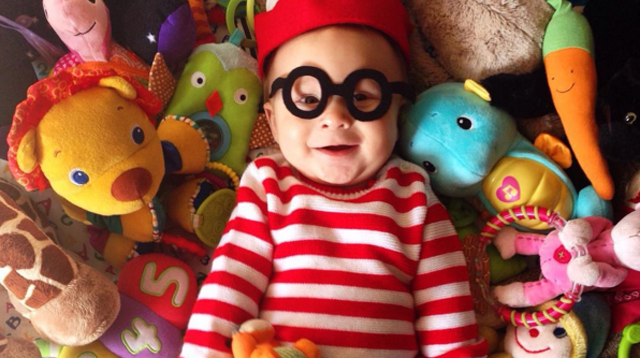 Adorable 6-Month-Old Dresses Up for Each Day of October